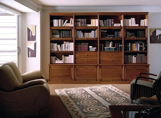 Del moral carpinteros libreros for Bibliotecas muebles