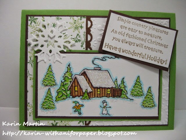 DRS Designs Rubber Stamps Old Fashioned Christmas