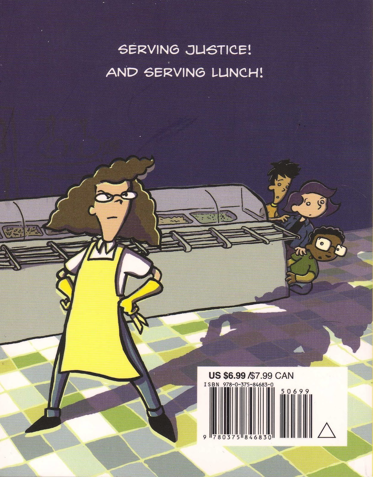 lunch lady and the cyborg substitute pdf