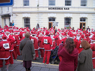 Santa fun run Falmouth