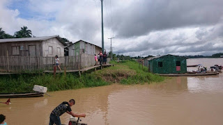 """Defesa Civil do Amazonas coloca a região do Juruá em """"Situação de Alerta"""" por conta da enchente"""