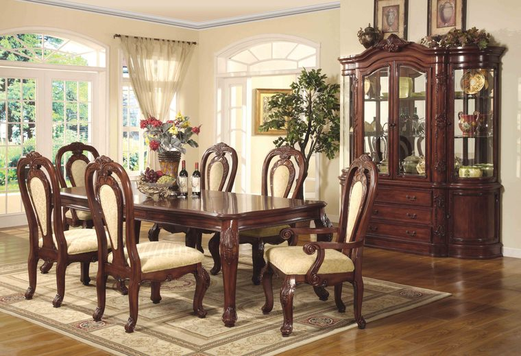 Most elegant modern dining rooms 47 for Formal dining room furniture