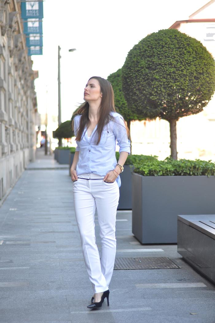 aleksandra skorupan, velvet and milk blog, outfit, street style, michael kors, zara