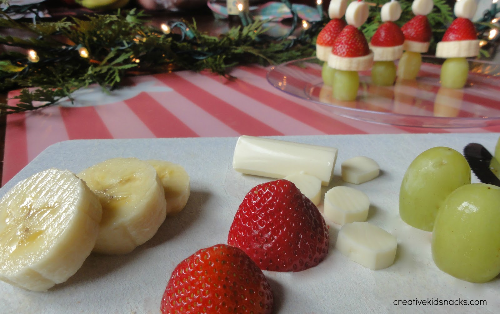 Christmas Party Fruit Ideas Part - 48: Step 1: Collect Your Ingredients And Assemble Grinches