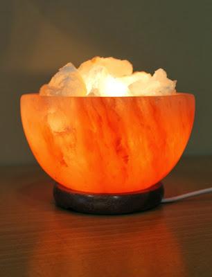 Lámpara de Sal Cuenco Tibetano