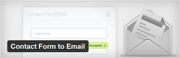 Contact Form to Email plugin