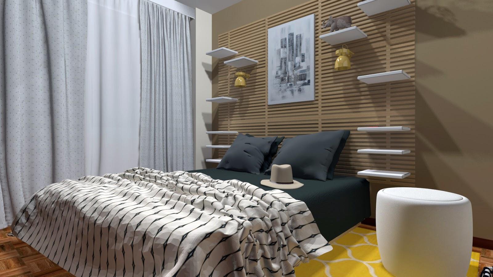 Trucos para dise ar una habitaci n decoraci n - Cabecero con almacenaje ...