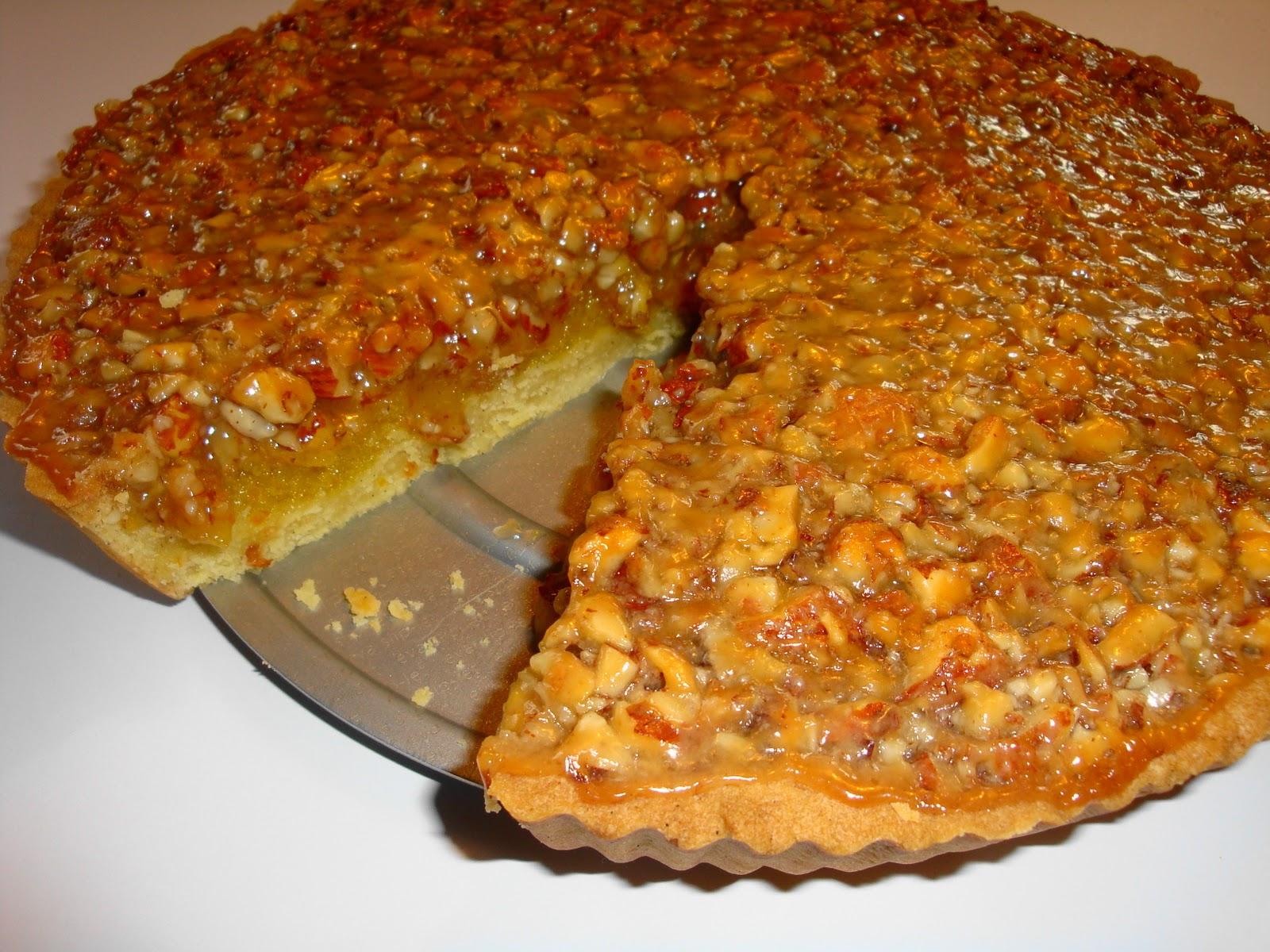 kage med mandler og appelsin