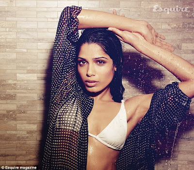Freida Pinto strips for sexiest photoshoot ever