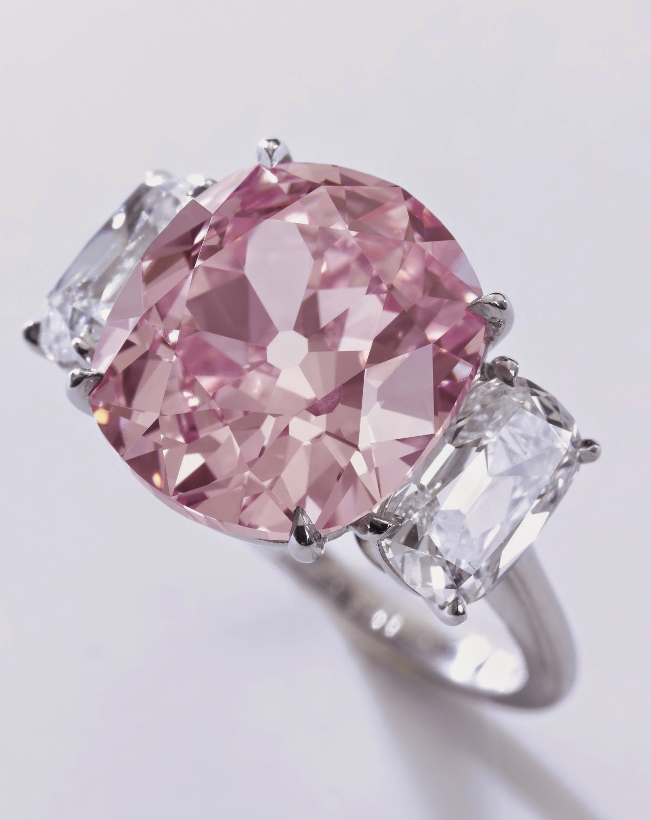 Historic Pink Diamond And 25 Carat Cartier Ruby Could Each Fetch 18 Million At Sothebys Geneva