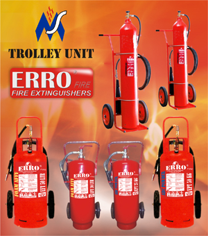 Tabung Apar Trolley Unit murah