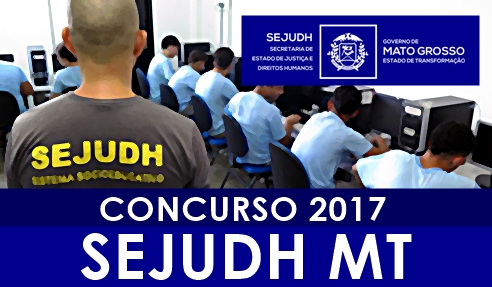 Apostila SEJUDH MT 2017 Agente Penitenciário