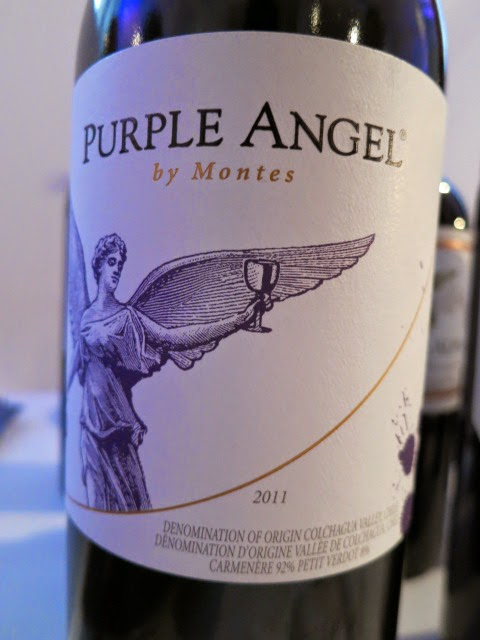 2011 Montes Purple Angel from Colchagua Valley, Chile