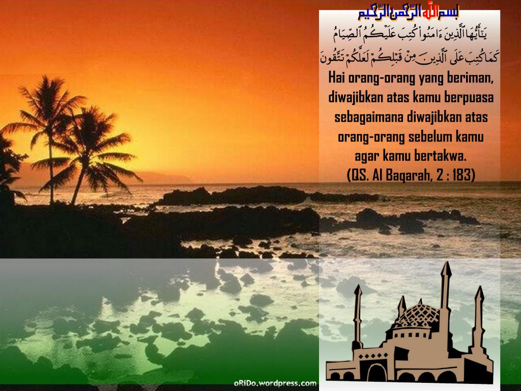Bulan Ramadhan ada satu malam sama seribu bulan,