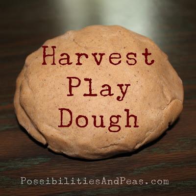 Harvest Play Dough