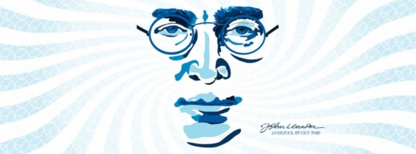 Facebook Covers John Lennon Posted In