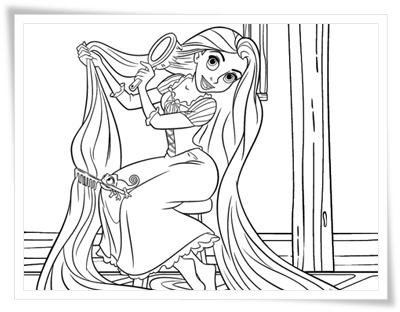 Schön Malvorlagen Von Rapunzel Bilder - Ideen färben - blsbooks.com
