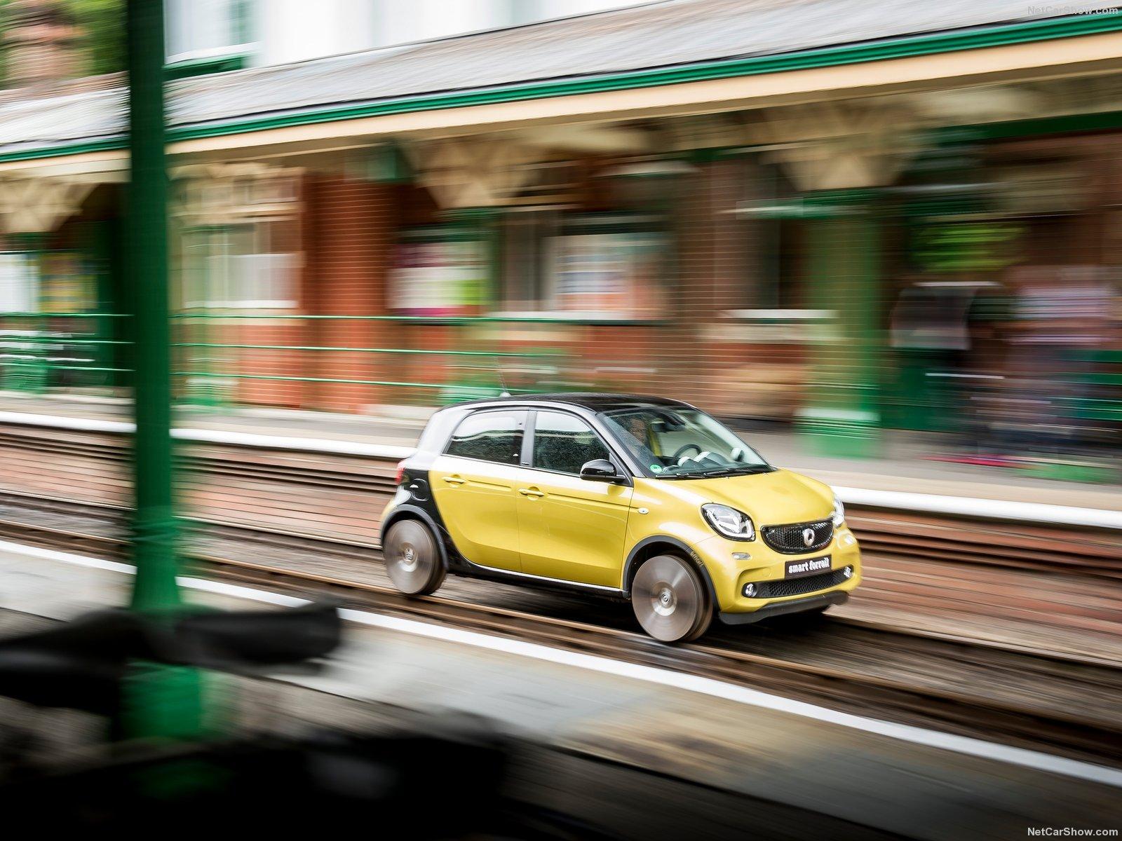 Hình ảnh xe ô tô Smart forrail Concept 2015 & nội ngoại thất