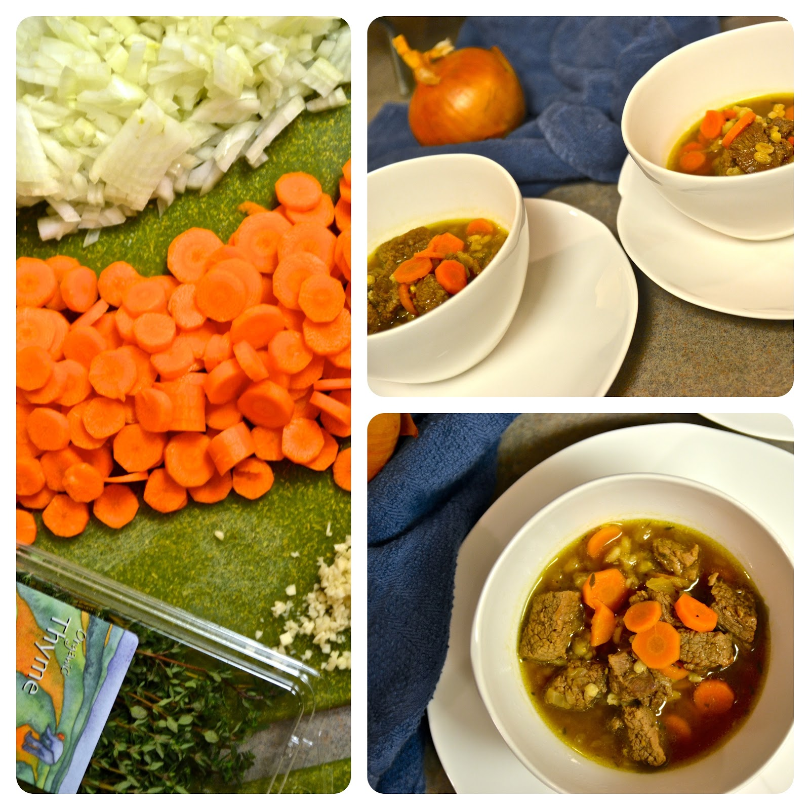 Explorations of an Amateur Cook: Week Five: Beef Barley ...