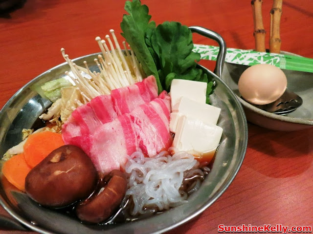 WATAMI Japanese Casual Restautant New Menu Review, WATAMI, Japanese Casual Restautant, japanese food, food, Gyuniku Sukiyaki Nabe, beef sukiyaki