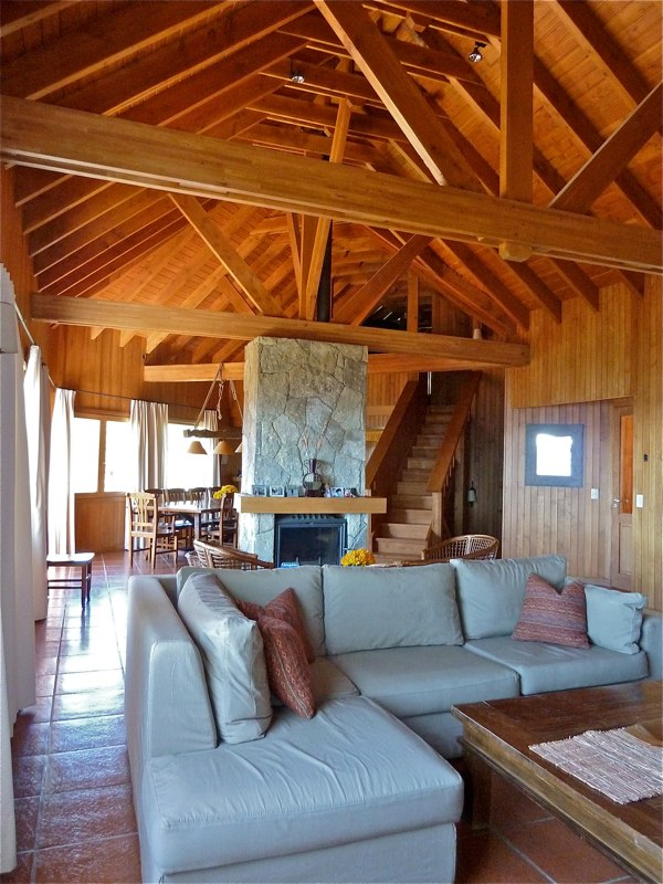 Ski house of the day june 2012 for 9 ft wide living room