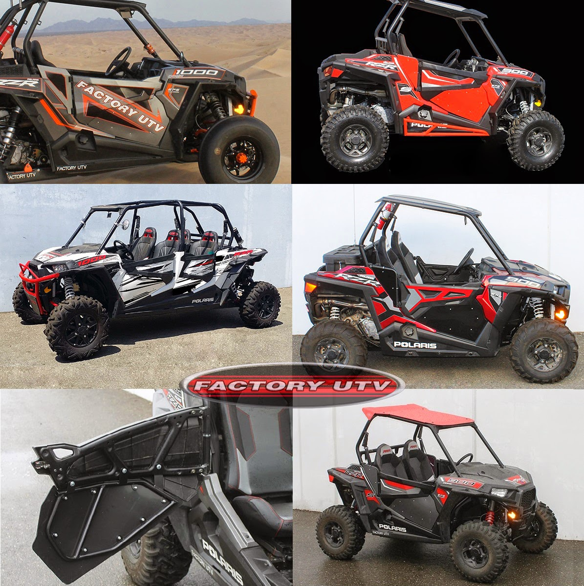 Polaris RZR Door Inserts