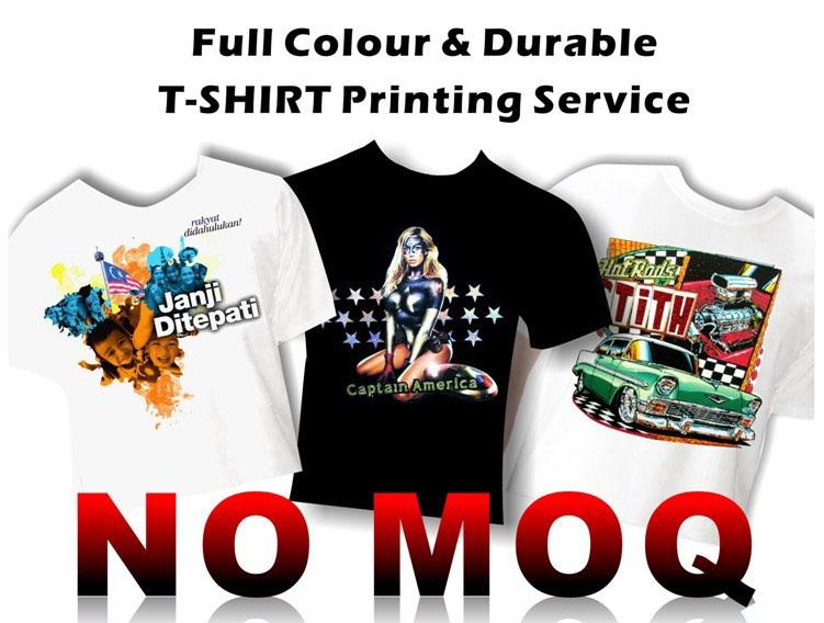 All You Can Print T Shirt Printing