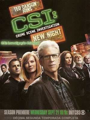 CSI: Investigao Criminal - 12 Temporada Completa - HDTV Legendado