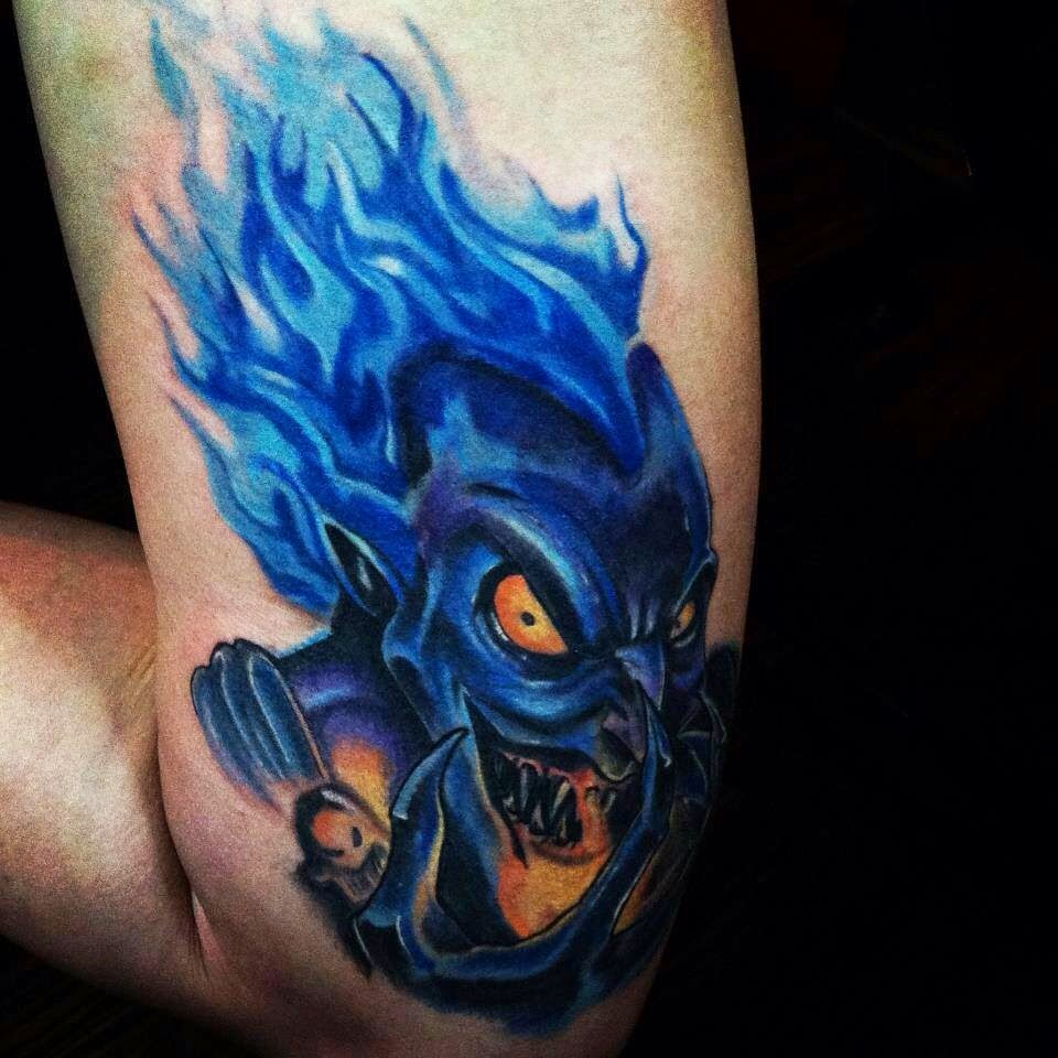 Hades - Disney Villain Tattoo