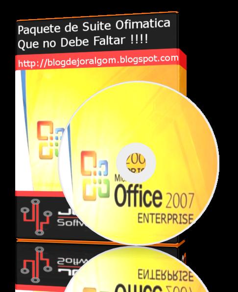 Microsoft® Office Enterprise 2007 Full Español Suite Ofimatica Que no Debe Faltar !!!!