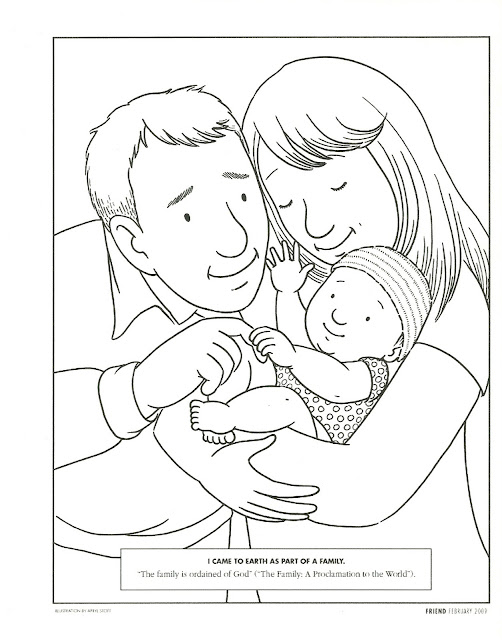 Happy clean living primary 2 lesson 3 for I am a child of god coloring page