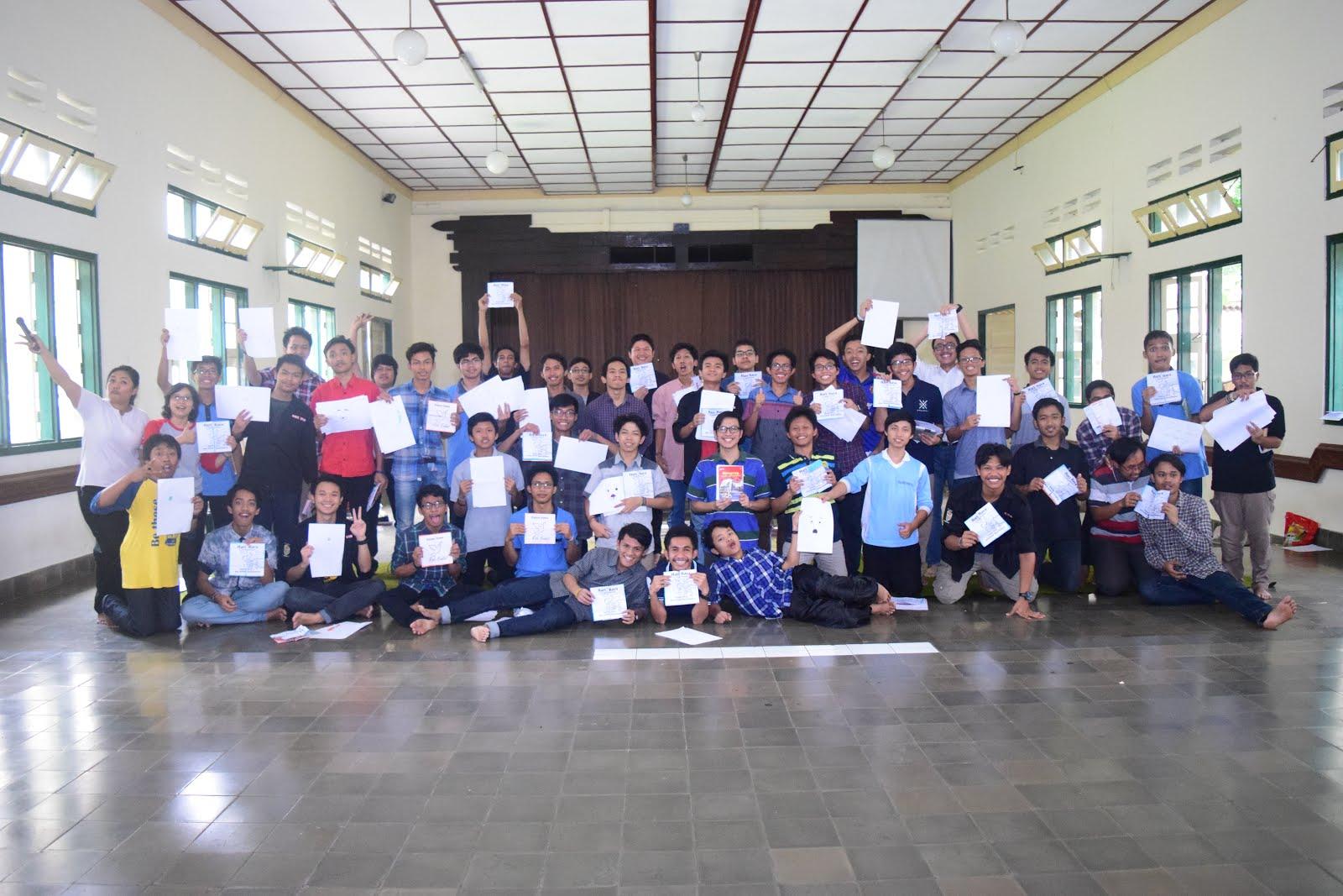 Bersama Para Seminaris Menengah Mertoyudan (19 Februari 2017)