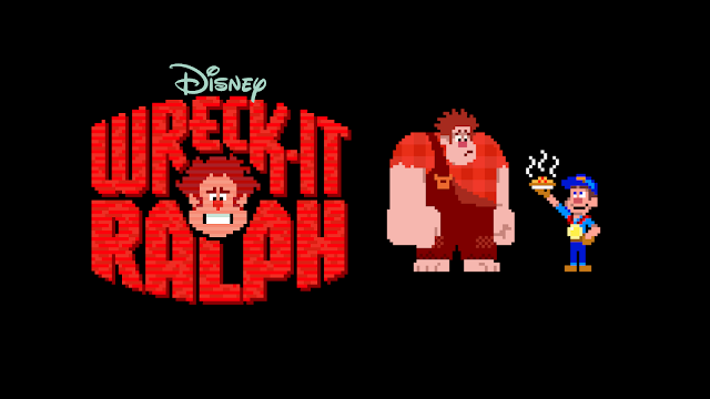 Wreck-It Ralph banner art disney