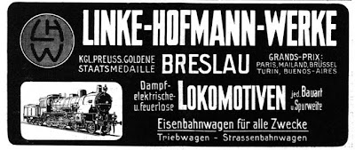 Locomotoras Linke-Hofmann-Werke 1913 steam