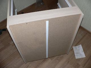 задняя стенка кухонного шкафа