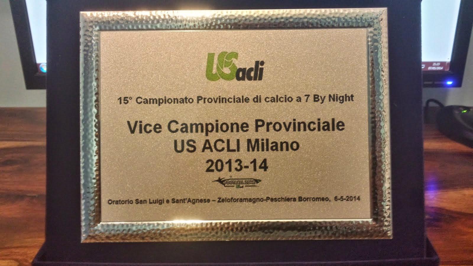 Vice Campione Provinciale 2013-2014