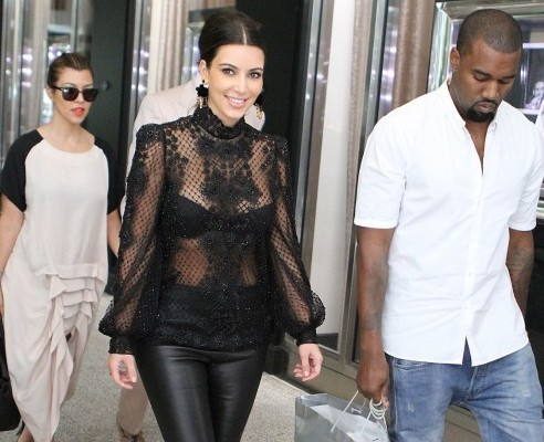 Get The Look: Kim Kardashian Lace Top