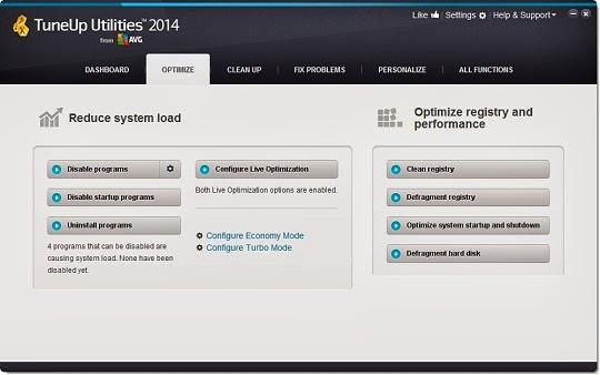برنامج TuneUp Utilities لعمل صيانة متكاملة للويندوز