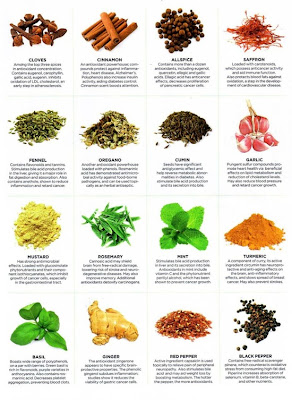 Herbs & Spices I Love!