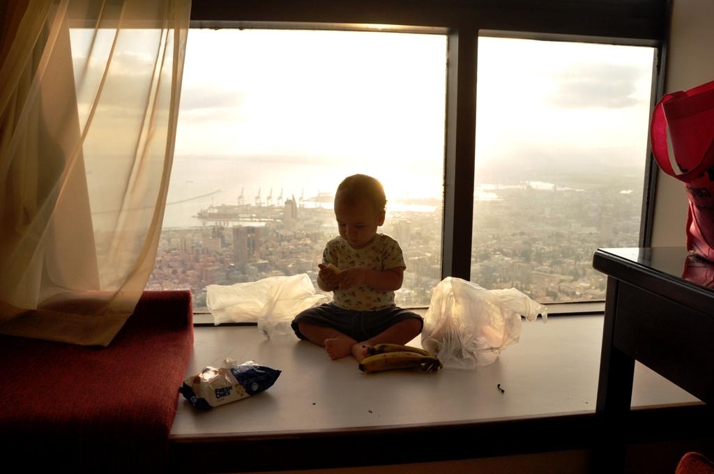 הנוף ממלון נוף בחיפה