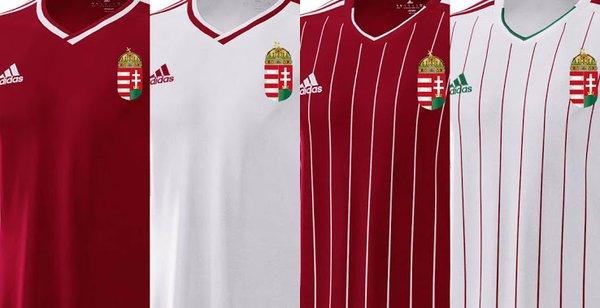 La camiseta de Hungría para la Euro, en manos de los fans