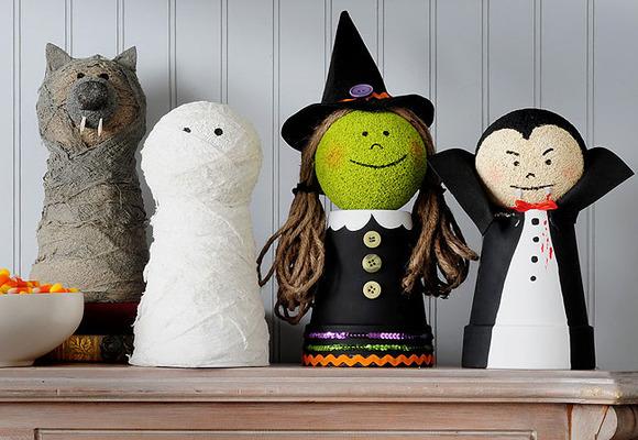 Decoracion Baño Halloween:El desastre de María: Ideas de manualidades para Halloween