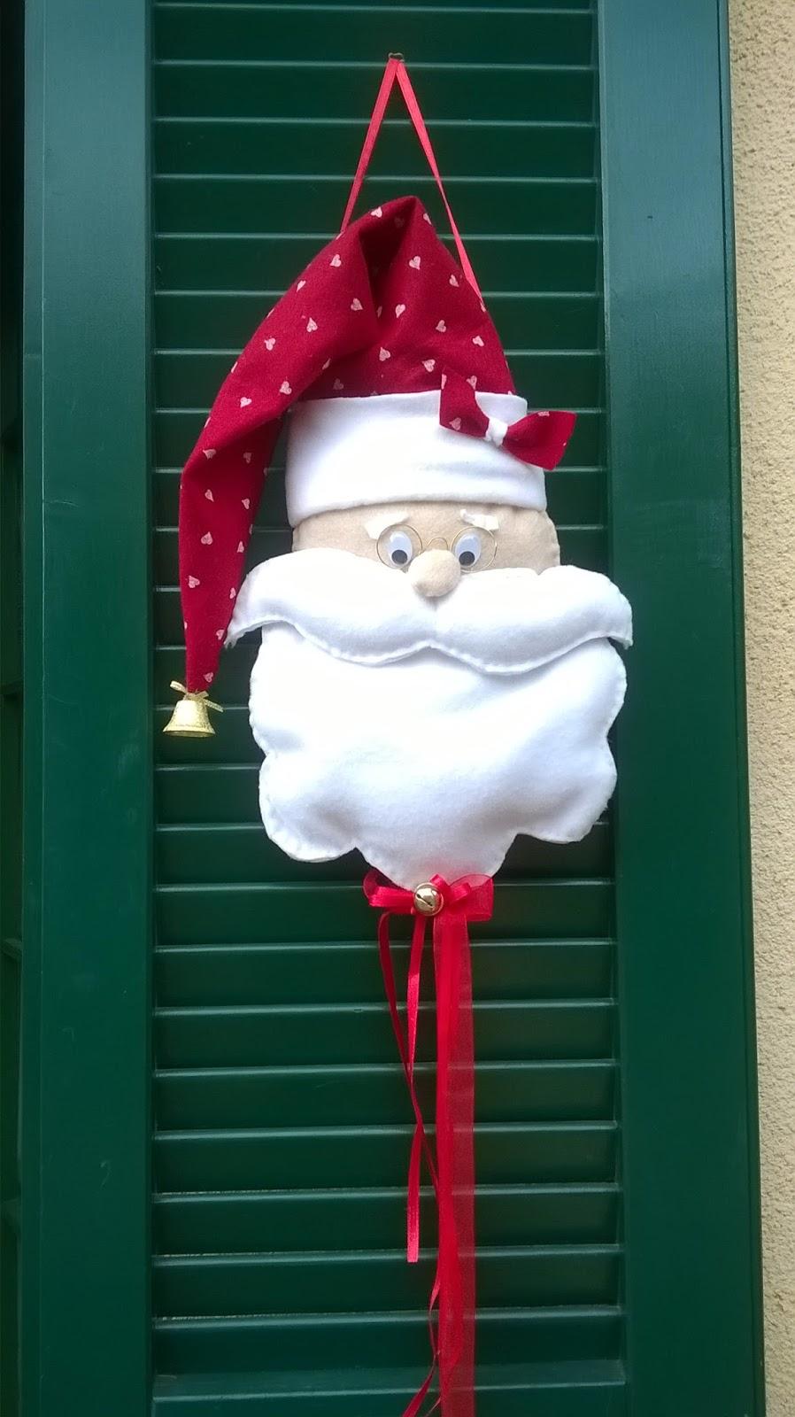 Gla crea babbo natale fuoriporta - Cuore da appendere alla porta ...