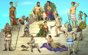12 Gods of Mount Olympus
