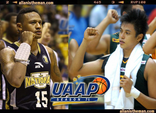 Terrence Romeo (FEU) vs Ray Parks (NU)