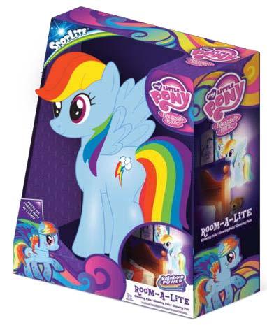 MLP Spot Lite Room-A-Lite Rainbow Dash