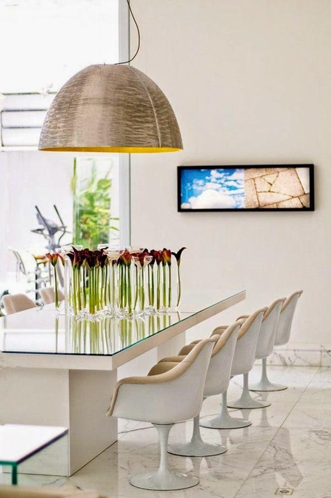 Espalhe flores pelos ambientes da casa Imobiliaria Nossa  - Fotos De Arranjos De Flores Para Mesa De Jantar