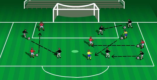 Resultado de imagen de fundamentos del futbol