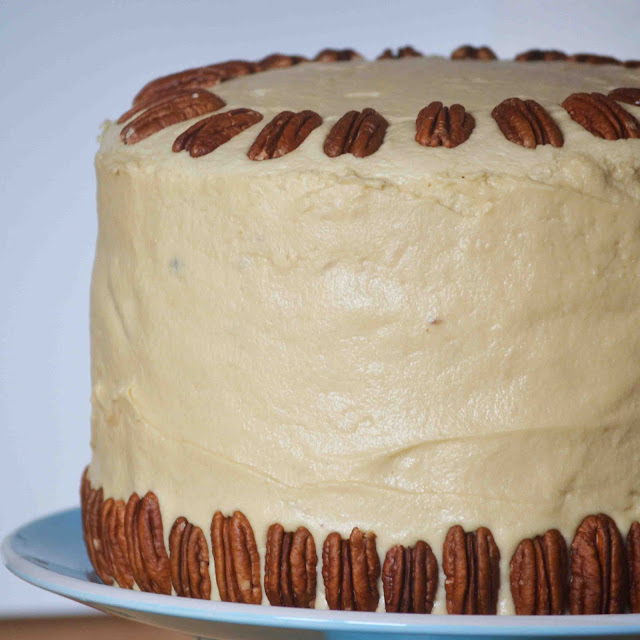 German Chocolate Cake Filled w/ Coconut Pecan Frosting and Topped with ...