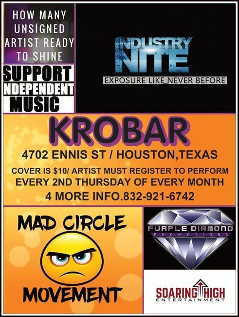 MADD CIRCLE DJ INDUSTRY MIXER EVERY 2ND THURSDAY OF EVERY MONTH @ THE KROBAR